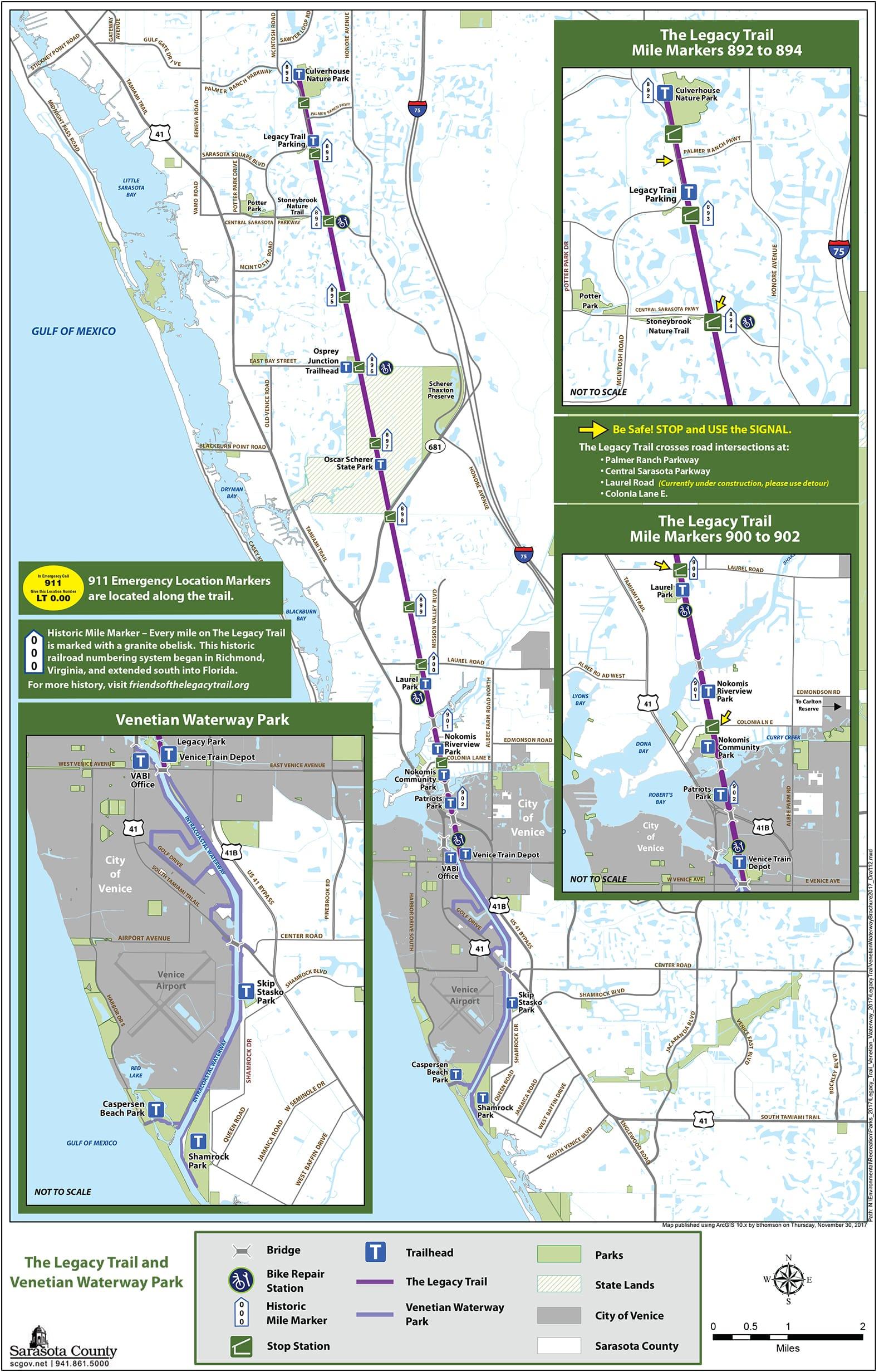 Map Venice Florida.Where To Ride Bicycles International Bike Sales Repair